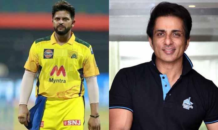 Cricket Image for सुरेश रैना ने मौसी के लिए मांगा ऑक्सीजन सिलेंडर, सोनू सूद ने कहा- '10 मिनट में पहु