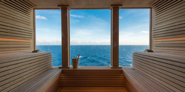 Spa Steam Rooms and Saunas on Nieuw Statendam (Photo: Cruise Critic)