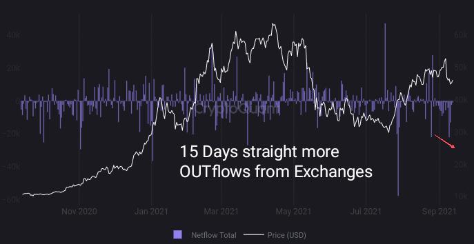 Bitcoin Netflows