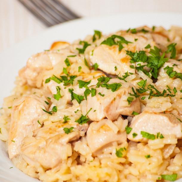 poulet au riz au cookeo