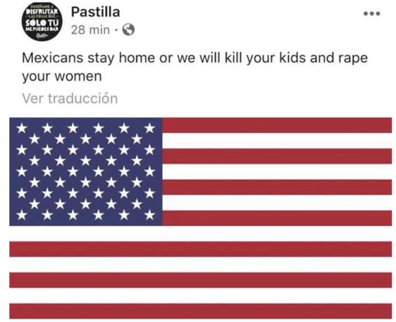 vocalista de pastilla insulta a mexicanos 1