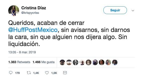 denuncian despidos del huffpost mexico 2
