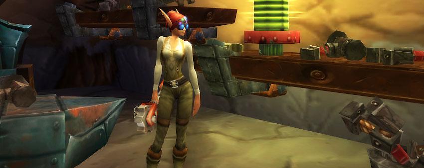 Female Blood Elf Engineer