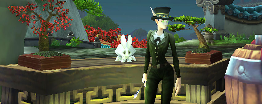 Blood Elf with top hat