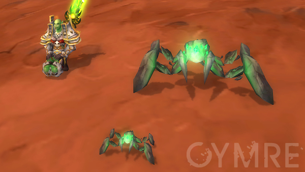 Hunter pet and Tiny Shale Spider