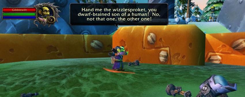 Gibblewilt dialogue