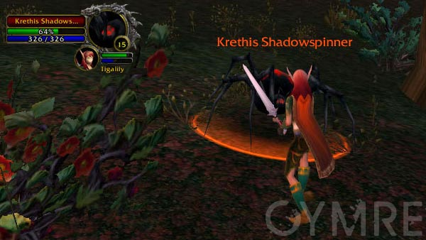 Krethis Shadowspinner Silverpine Forest Rares