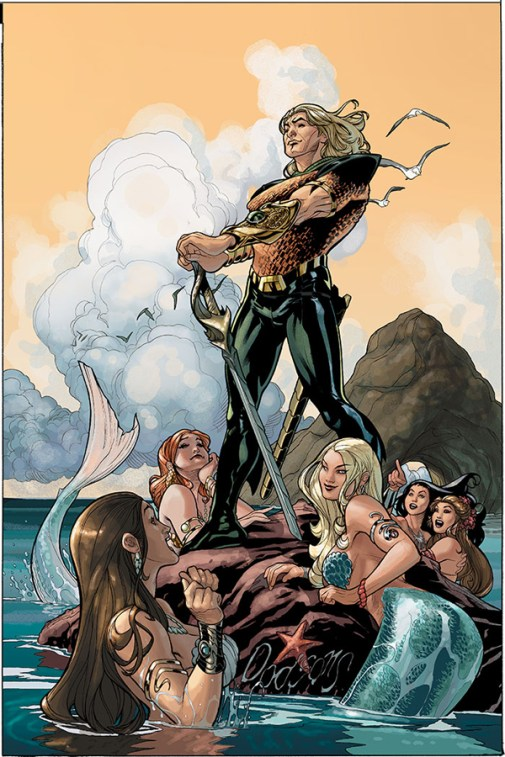 Aquaman by Terry Dodson