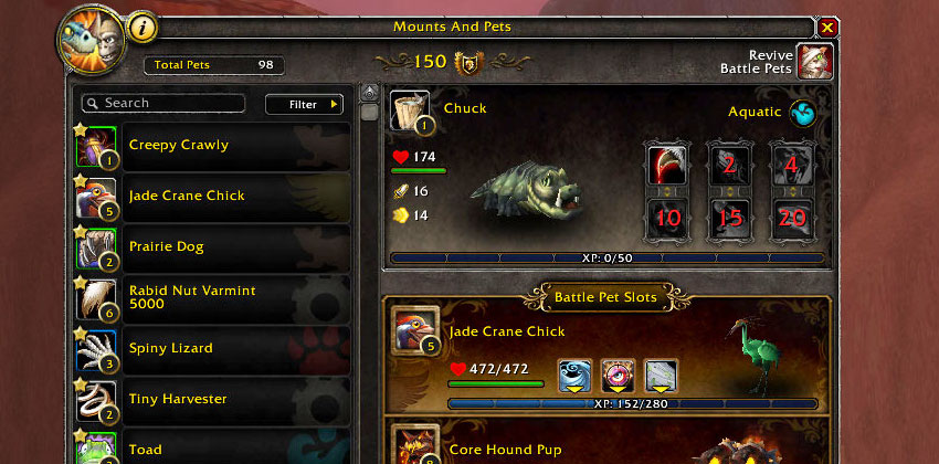 Pet Quality in journal Pet Battle Guide