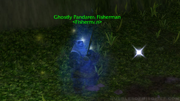 Ghostly Pandaren Fisherman