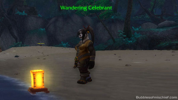Lantern femalew Wanderer's Festival