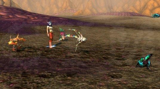 Sandstorm battle