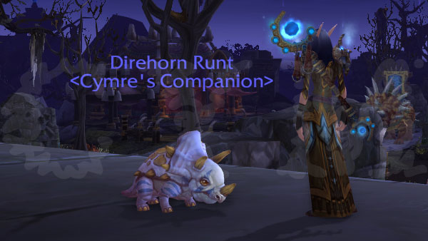 Direhorn Runt 1 Raiding With Leashes II