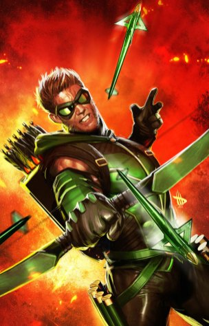Green Arrow by Dave Wilkins