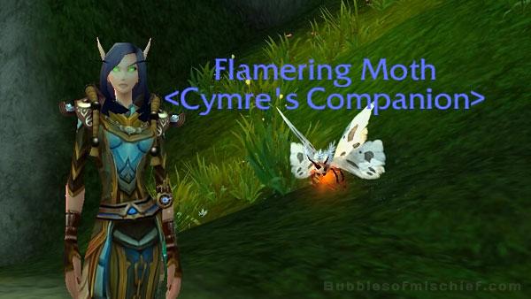 Flamering Moth - Timeless Isle