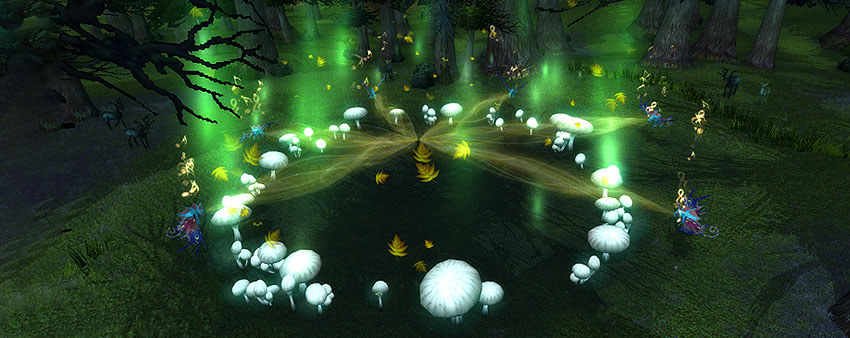 Fairy circle Faerie Dragon Nest