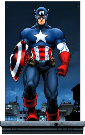 Captain America by TPollockJR