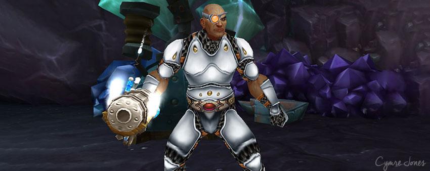 Cyborg in Warcraft