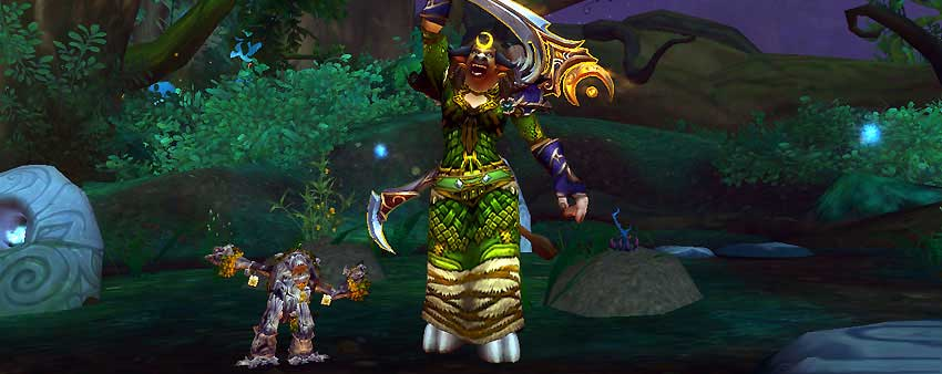 Broot druid class pet