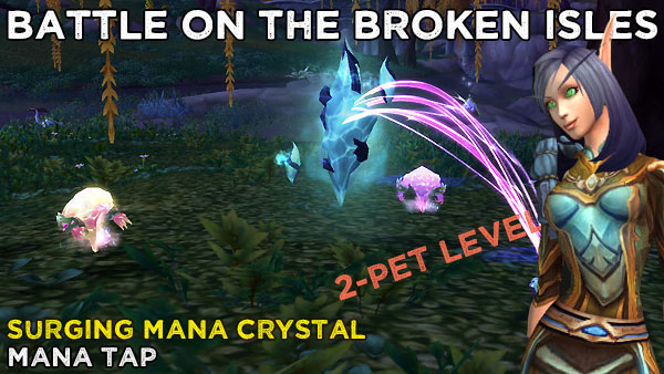 BattleManaTap2 Power-Levelling on the Broken Isles