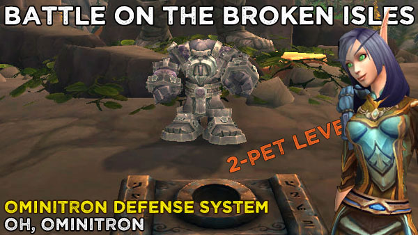 BattleOminitron2 Power-Levelling on the Broken Isles