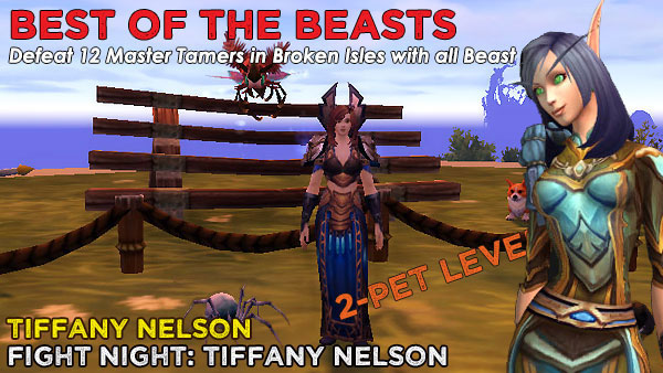 BeastTiffany2 Power-Levelling on the Broken Isles