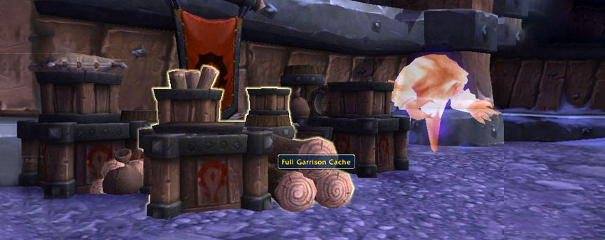 Full Garrison Cache garrison guide