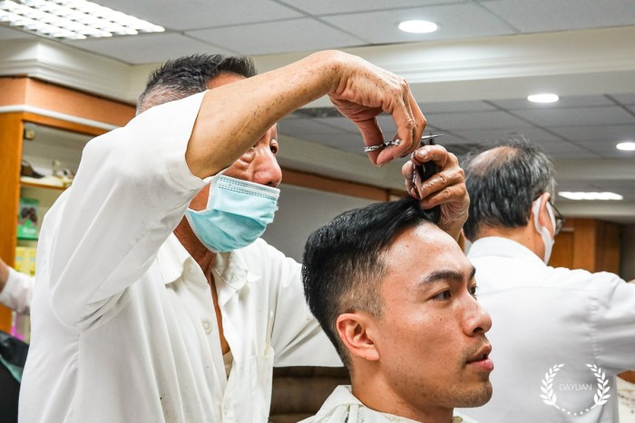髮型|10間洗剪修容 便宜技術佳的台北男士理髮老店|Barber shop