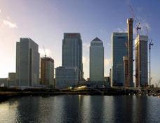 Dail Mail photo of London Canary Wharf
