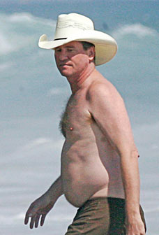 Val Kilmer is a fatty fat fat