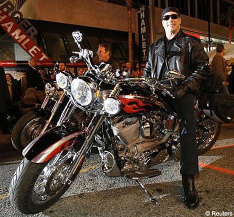 John Travolta at Wild Hogs