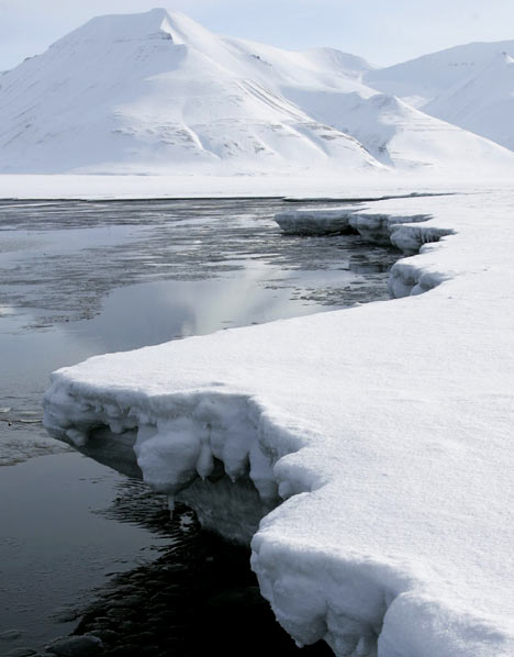 Arctic icecaps