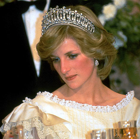Diana Frances, Princess of Wales, nee Spencer, at her wedding to Royal Highness The Prince Charles Philip Arthur George, Prince of Wales and Earl of Chester, Duke of Cornwall, Duke of Rothesay, Earl of Carrick, Baron of Renfrew, Lord of the Isles, Prince and Great Steward of Scotland, Knight Companion of the Most Noble Order of the Garter, Knight of the Most Ancient and Most Noble Order of the Thistle, Great Master and First and Principal Knight Grand Cross of the Most Honourable Order of the Bath, Member of the Order of Merit, Knight of the Order of Australia, Companion of the Queens Service Order, Honorary Member of the Saskatchewan Order of Merit, Chief Grand Commander of the Order of Logohu, Member of Her Majestys Most Honourable Privy Council, Canadian Forces Decoration, Aide-de-Camp to Her Majesty