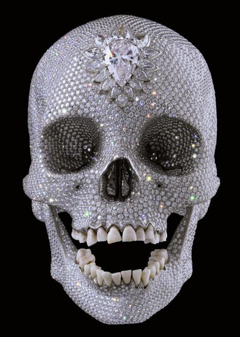 Damien Hurst diamond skull
