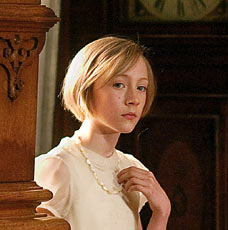 Saoirse Ronan as Briony Tallis in Joe Wright's 2007 film adaptation