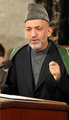 Unsure. Hamid Karzai has been fully cooperative with the CIA since the 1980's, but the recent voicing of discontent by the Afghani President over the amount of civilians being killed in his country, and counter allegations of Karzai hindering drug control efforts, could just possibly indicate an end to the honeymoon.