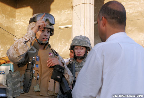 Iraqi interpreter