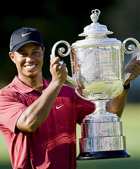 Hes the pick to hoist the Wanamaker again, right?