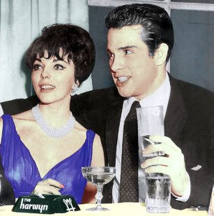 Image result for warren beatty and joan collins color