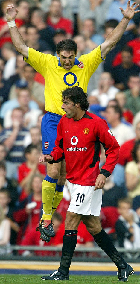 Dear Mr Wenger, buy some big scary footballers like Keown for next season please...