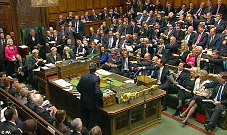 Suara majoriti yang menjadi penentu dalam Parlimen