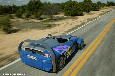 hydro foil car
