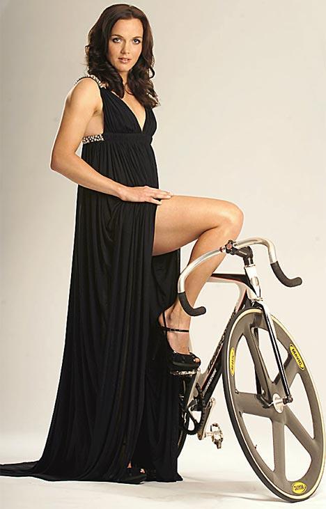 Glamorous Victoria Pendleton