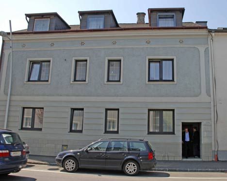 Elisabeth Fritzi is said to have been held hostage in the cellar of this house in  Amstetten