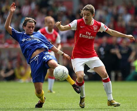 Arsenals Karen Carney