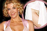 Natasha Richardson has a wardrobe malfunction