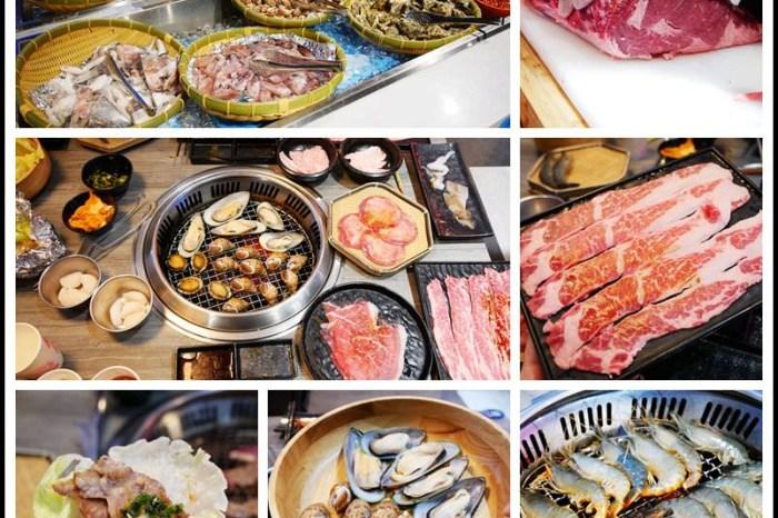 桃園-蘆竹區美食【大漠紅頂級燒肉-南崁店】超狂頂級老饕餐搭99元泰國蝦吃到飽
