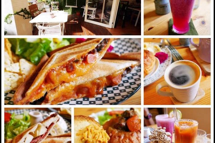 桃園中壢美食【Love in Cafe' 樂飲咖啡】鄉村風溫馨咖啡館/早午餐&咖啡甜點下午茶