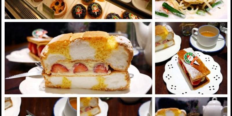 桃園美食【香草蛋糕舖】地中海風甜點店│義式主餐│咖啡甜點下午茶