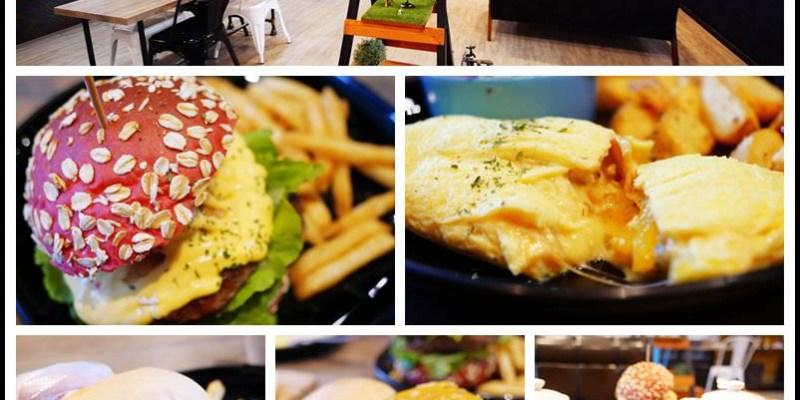 桃園八德【The BurgeR HousE 美式漢堡餐廳】用心手工燕麥堡│早午餐&厚實美式大漢堡